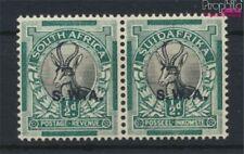Namibië - Southwest 132-133 horizontaal Echtpaar met Fold 1930 Postze (9233720