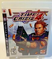 (Sony PlayStation 3, PS3, 2007) TIME  CRISIS 4