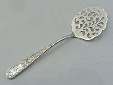 """New listing Kirk """"Old Maryland Engraved"""" Sterling Tomato Server W/ Piercing In Blade"""