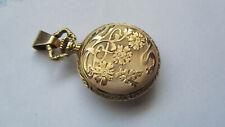 ancienne jolie montre à gousset femme en or18 K de 17,4 grammes