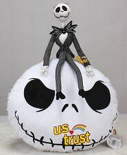 The Nightmare Before Christmas Jack Skellington Plush Doll & Pillow Cushion Soft