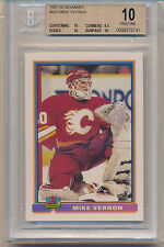 1991 Bowman Mike Vernon (#253) (Population of 1) BGS10  BGS