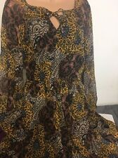 Atmosphere Lovely Brown  Dress Size 12  New