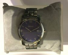 DKNY Mens Solid Stainless Steel Watch ~ NY1018 ~ 5atm 50mts ~ new/boxed ~ XMAS