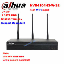 Dahua NVR4104HS-W-S2(replace NVR4104-W) 4 CH ONVIF wifi Network Video Recorder