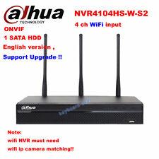 Dahua NVR4104HS-W-S2 NVR 4 Channel Smart Mini ONVIF wifi Network Video Recorder