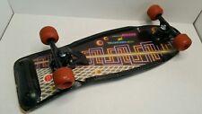 Vintage 1989 Nash Mazed And Confused Skateboard XR-2 Black USA