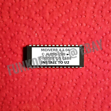 Alesis Midiverb 4 v1.04 EPROM Firmware Upgrade KIT / New ROM Update Chip