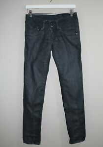 "Pepe Jeans Brand Brooke Blue Straight Leg Denim Jeans Size 28"" #AN02"