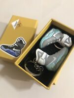 Air Mag Back to the Future 3D mini sneaker keychain. Pair with Box.