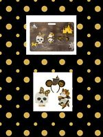 Disney Pirates Of The Caribbean Minnie Mouse Main Attraction 3 Pin Set LR New