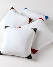 Decorative Bed Suede Cap Cushion Cover All Size & Color 800 TC Egyptian cotton