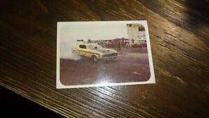 """1972 FLEER AHRA DRAG NATIONALS BILL LEAVITT'S """"QUICKIE TOO"""" MUSTANG FUNNY CAR #6"""