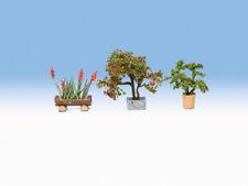 Noch 14020 H0 Zierpflanzen in Blumenkübeln LaserCutmini Versand DHL Paket Neu