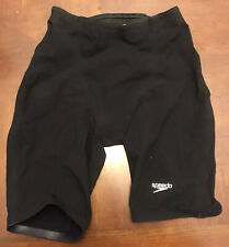Speedo LZR Racer Elite 2 Men's Jammer Size 28 Black Fastskin Tech Suit Swim