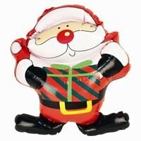 Inflatable Novelty Christmas Santa Father Xmas Blow Up Decoration Figure 46cm