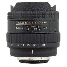 Tokina 10-17mm F/3.5-4.5 AT-X Fisheye DX für Canon EF-S - Vom Fachhändler