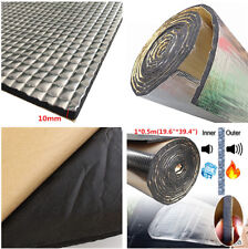 "1*0.5m 19.6""*39.4"" Sound Deadener Heat Self-Adhesive Car Sound Aluminum sheet"