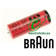 Braun 81377206 Batería depiladora Silk epil 7 y 9 / Afeitadora Pulsonic