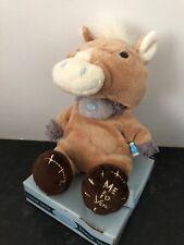 RARE ME TO YOU ANIMAL TATTY TEDDY BEAR ON BOX - DRESS UP - HORSE