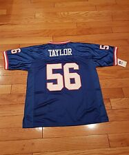 New York Giant Lawrence Taylor throwback  blue X large #56  sticthed Jersey