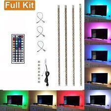 LED HDTV 5V USB RGB Backlight Strip Light Kit Waterproof with Remote Controller