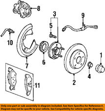 Lincoln FORD OEM 01-02 Continental Rear Brake-Disc Caliper Assembly 2F3Z2553AA