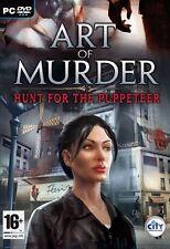 Art Of Murder: Hunt For The Puppeteer (PC DVD) BRAND NEW SEALED