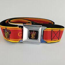 Harry Potter Fantasy Movie Series Deathly Hallows Emblem Seatbelt Belt