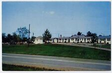LEESBURG VA early Phillips Motel postcard