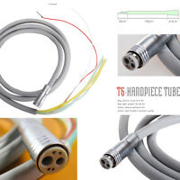Dental Fiber Optic High Handpiece Turbine Tube 6 Hole Connecting Hose BBAQ