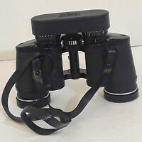 Vintage SEARS BINOCULARS 7X35mm WIDE ANGLE Model 6206 w/ Case, strap, lens cover
