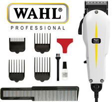 Wahl Professional Super Taper Hair Clippers Corded Classic Series - White