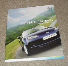 Mazda MX5 MX-5 Icon Special Edition Brochure 2007