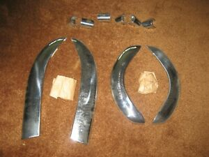 1951 Buick NOS 40 series Front And Rear Bumper Guards!!!