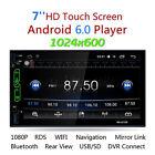"7 "" 2 DIN Android 6.0 HD AUTORADIO MP3 LETTORE RADIO FM AUDIO VIDEO WIFI GPS"