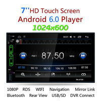 "7 "" 2Din Android 6.0 HD Stereo MP3 Player FM Radio AV WIFI GPS Navi Car dURABLER"