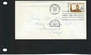 ''SCOUTS OF UNITED STATES  1910- 1960  Cover-  WASHINGTON TO  CALIF-