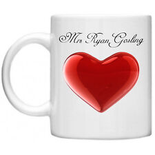 Ryan Gosling Mrs Celebrità cimeli cinematografici Novità Tea Caffè Tazza per lei