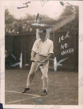 1923 Australian Tennis Player Pat Ohara Wood Press Photo