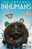 Uncanny Inhumans Comic Issue 13 Limited Tsum Variant Modern Age First Print 2016