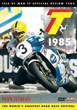 Isle of Man TT - Official Review 1985 (New DVD) Man to Man