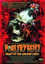 Pelicula Peli REPRO Troma Poultrygeist cartel impresión A3 este un cartel