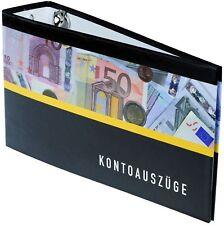 2 Bankordner 140x250mm / Ordner für Kontoauszüge