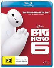 Big Hero 6 * blu-ray * NEW