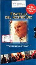 """VHS RARITA """"Fratello del nostro Dio"""" il film scritto dal Papa (Karol Wojtila)"""