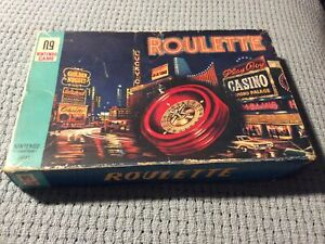 Vintage Retro Nintendo Game Roulette in Box 1960's Japan Complete