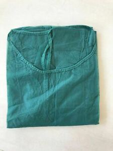 Disposable Protective Surgical Gown Green Hairdressing Beauty Salon UK Seller