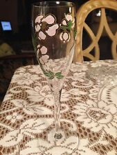 Perrier Jouet Champagne Rose Glass