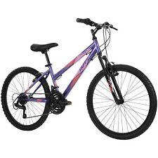 Huffy Hardtail Mountain Bike, Stone Mountain, 24 inch 21-Speed, Lightweight